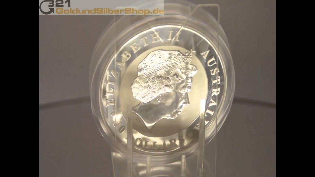 10 oz Koala Silbermünze - Perth Mint Australia (321goldundsilbershop.de)