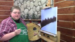 fairy dust blues how to use glitter in your painting wet on wet oil painting season 5 ep 6