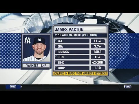 A closer look at the Yankees' acquisition of James Paxton