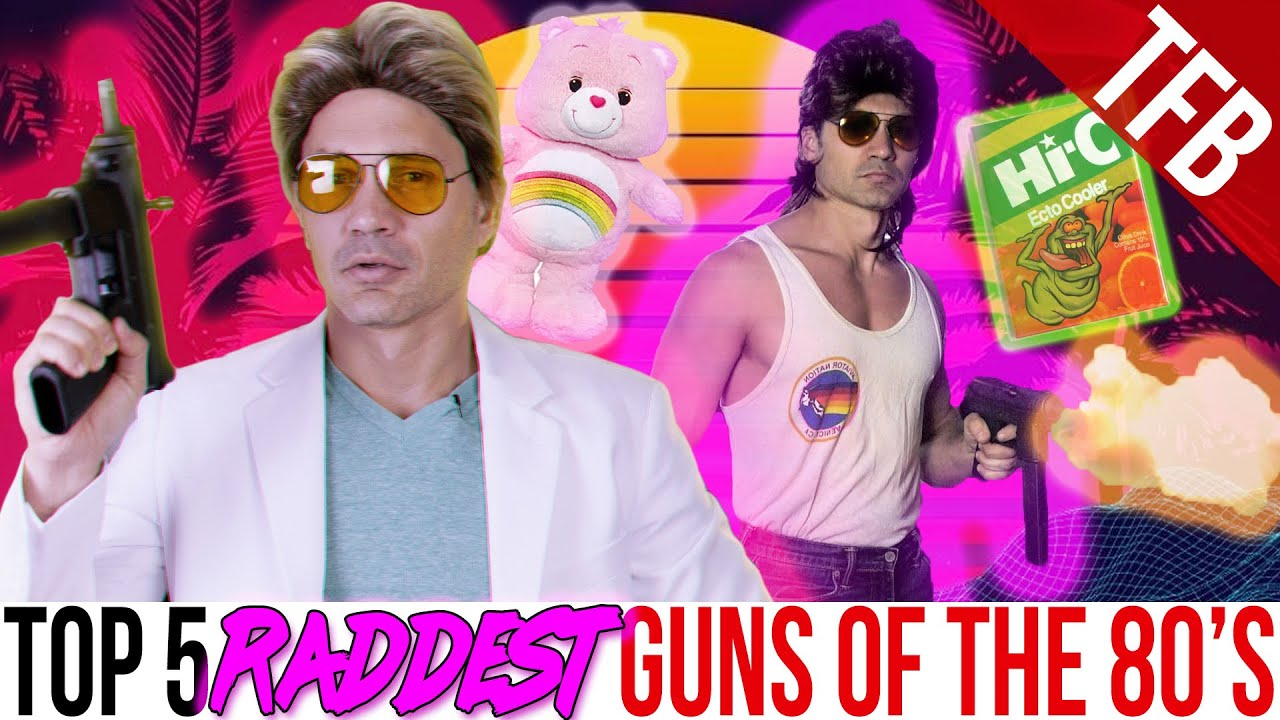 The Top 5 Raddest Guns from the 1980's
