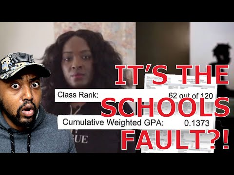 Baltimore Student With ZERO GPA FORCED To Start Over Highschool After Ranking In Top Half of Class!