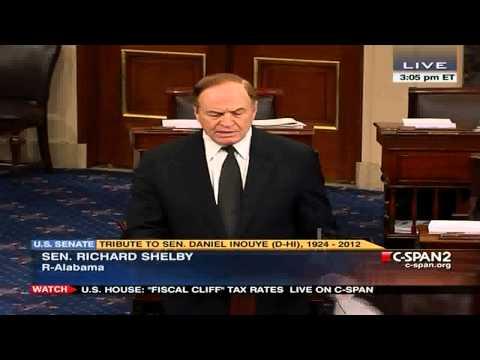 Senator Shelby Tribute to Senator Daniel Inouye