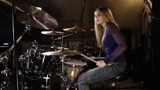 "JINJER ""Pisces"" (Drum Cover)~Brooke C~"