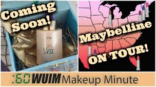 Tarte Rainforest RADIANCE DROPS! + Maybelline on TOUR This Summer! | Makeup Minute