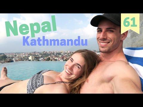 """Nepal, Kathmandu: Monkey Tempel """"Swayambhunath"""""""