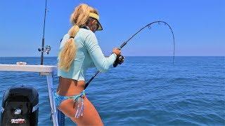 Florida Keys Deep Sea Wreck Fishing in our FLATS BOAT!