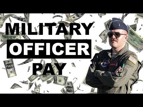 Military Officer Pay - What Does A Lieutenant Make? (O-1/O-2)