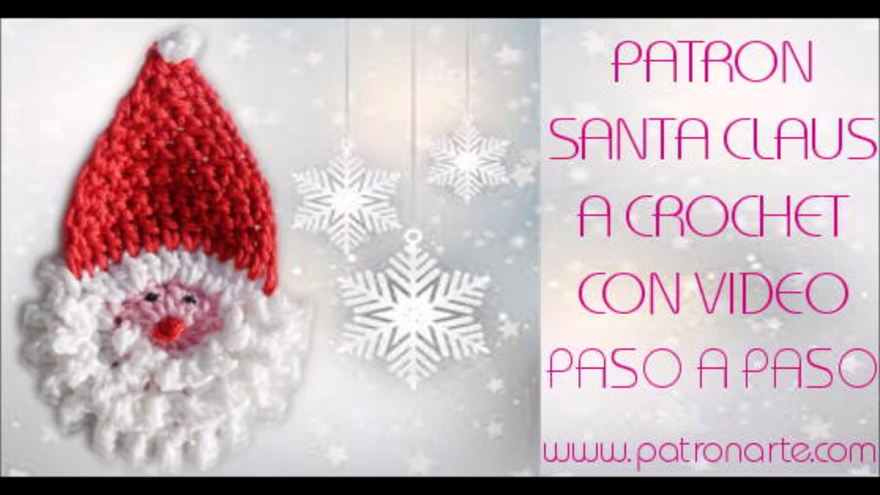 Santa Claus de Crochet - YouTube