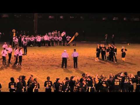 Girls Powderpuff Football North Haven at Amity 20141124