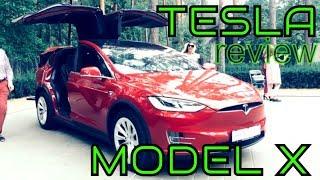 Tesla Model X review test drive | Тесла модель Х обзор тест