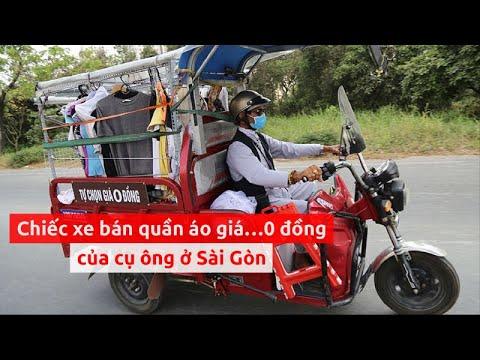 Cụ ông Sài Gòn miệt mài bán quần áo giá…0 đồng - PLO