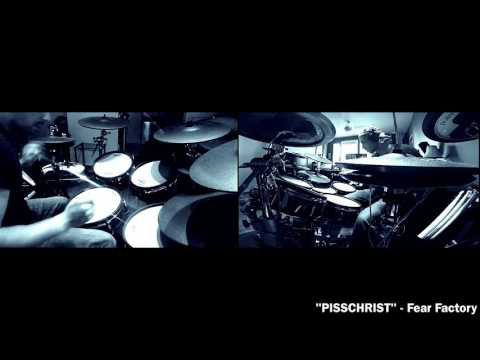 Pisschrist - Fear Factory Roland TD 30KV V Drum Cover by THE V DRUMMER