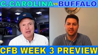 College Football Picks and Predictions | Coastal Carolina vs Buffalo Preview | Predictive Playbook