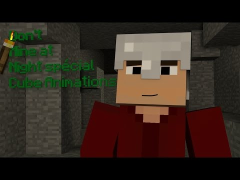 Don't Mine At Night ? [Minecraft Animation]