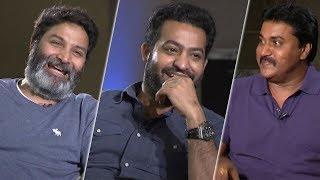 Sunil Super Funny Interview With NTR & Trivikram on Aravinda Sametha | TFPC