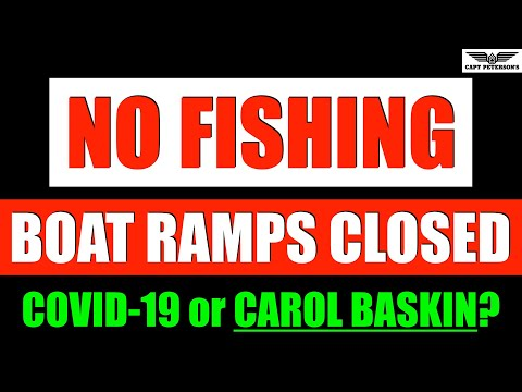 Coronavirus NO FISHING & Boat Ramp Closures - Saltwater Fishing Report - Florida- USA - Dock Talk