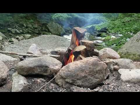 CampFire And Tye River From Crabtree Falls Campground(1)