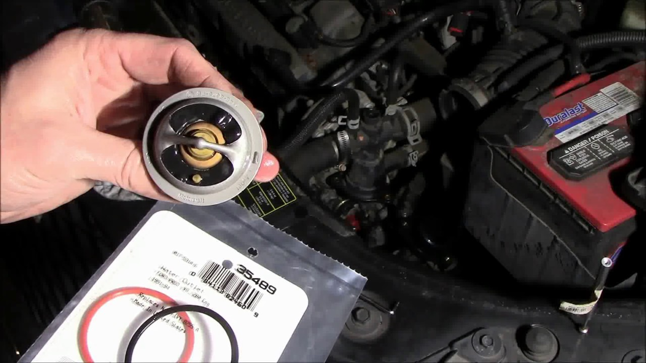 2005 Ford Freestyle Thermostat Replacement YouTube