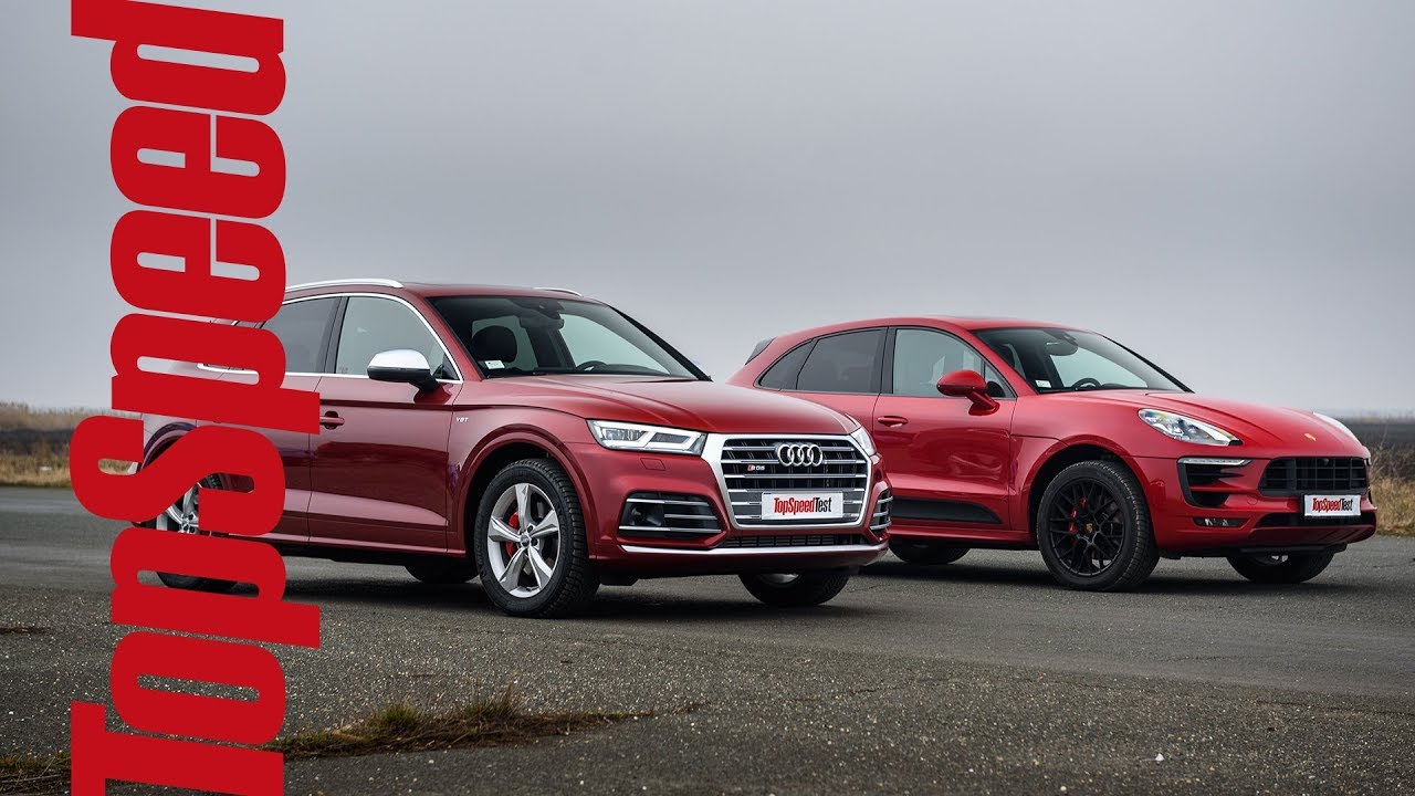 Audi Sq5 Vs Porsche Macan Gts Drag Race By Topspeed Magazine Youtube