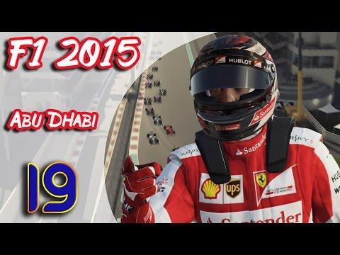 F1 2015 (FR) - Carrière Kimi Raikkonen - Abu Dhabi