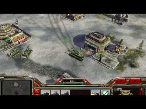 Command and Conquer Generals: Zero Hour Ep. 1 (China Nuke General VS China General )