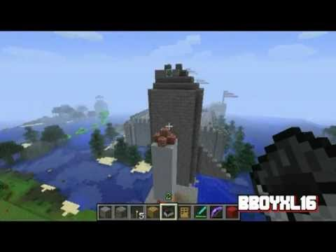 how to make a rocket ship in minecraft