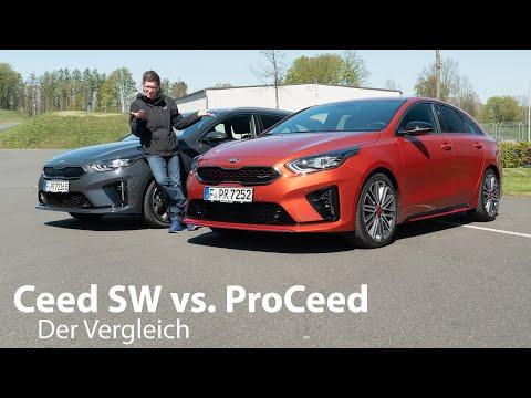 Der Vergleich: Ceed SW Versus ProCeed - Welcher Ist Der Bessere Kombi? -Autophorie