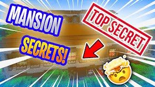 WOODLAND MANSION SECRET ROOMS!!
