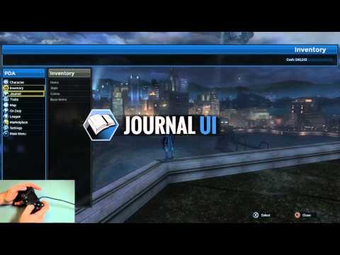DC Universe Online (PS4/PS3) UI Work-In-Progress Trailer