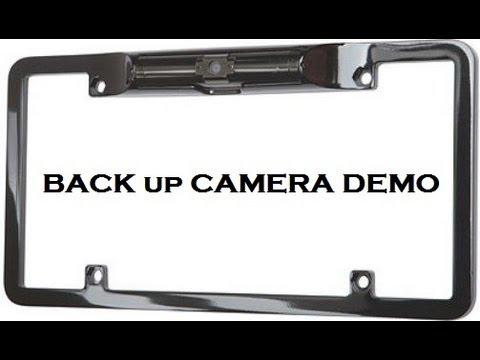 Backup Camera Demonstration Boyo Camera Anthonyj350 Youtube