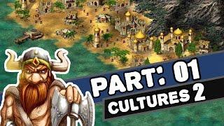 Cultures 2 brány asgardu | # 01 | Davy | CZ Lets Play | Seznámení s hrou