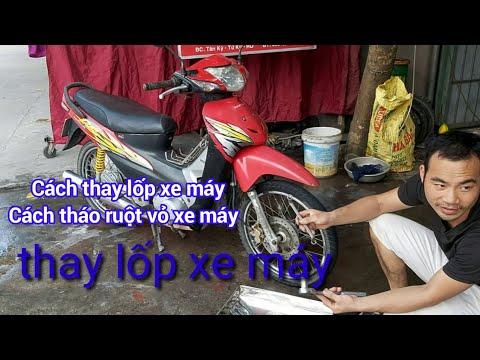 CáchThay Lốp Xe Máy, Tháo Và Lắp, Nguyễn Hữu đông,cách Móc Săm Lốp Xe Máy,thay Vỏ Xe Máy