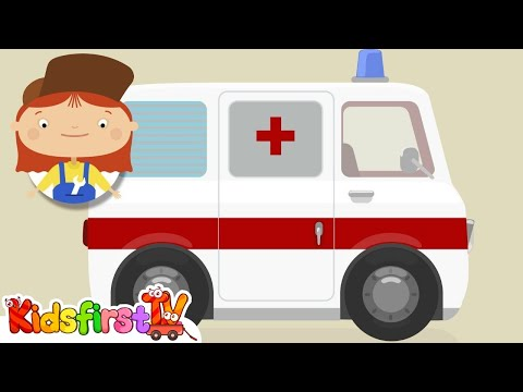 CALL AN AMBULANCE! Doc McWheelie gets SICK! - Health Education Cartoon for Kids!