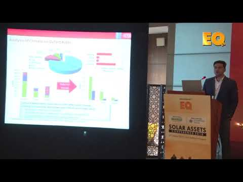 Rahul Khatri, Technical Manager, DuPont Photovoltaic Solutions at EQ Solar Assets Conference, Delhi