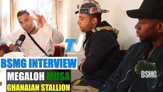 BSMG Interview: Megaloh, Ghanaian Stallion, Musa, Jesse Owens, Afrika, Platz An Der Sonne, Superman