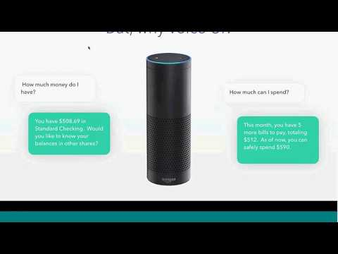 Voice User Interface Digital Banking 2017-07-26 Webinar