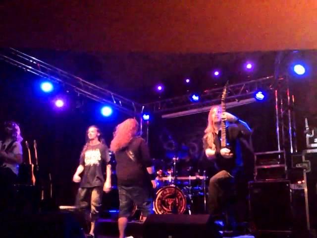 Pneumatic Frost - Spawn from Ectoplasm live @ Lizard King (Metalfilia 2013)