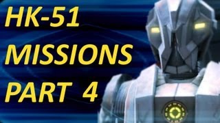 HK-51 Quest Line: 2nd Component - HK Chassis, Taris (SWTOR)