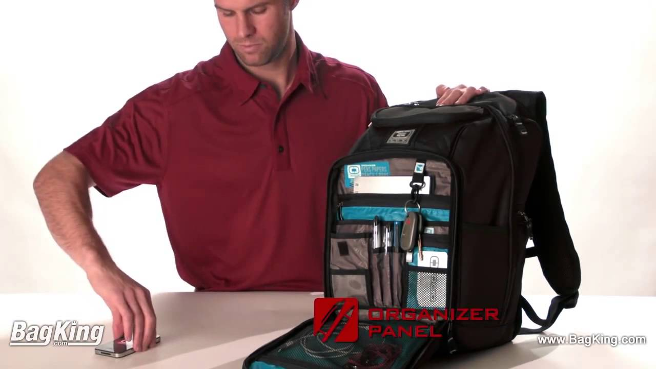 Ogio Epic Sleek Backpack - BagKing.com - YouTube