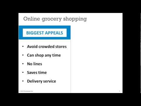Technomic Talks - Shopper Insights Online versus Traditional Grocery Channels