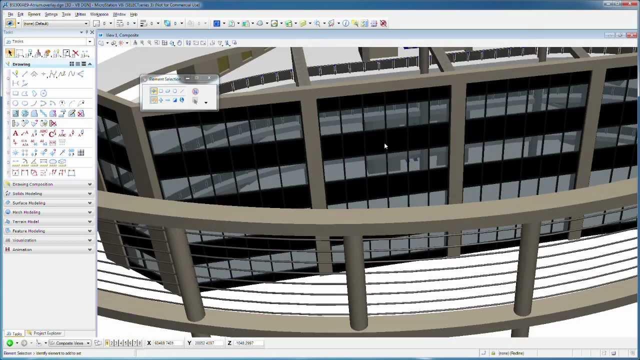1 rendering microstation v8i rendering animation basics. Black Bedroom Furniture Sets. Home Design Ideas