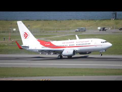 Rare!!! Air Algerie Boeing 737-700C [7T-VKS] Touch And Go At PDX