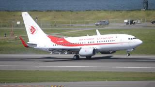 rare air algerie boeing 737 700c 7t vks touch and go at pdx