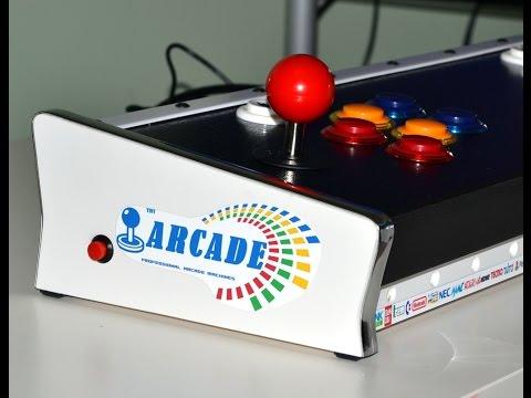 Arcade Console TinyCade HD two player JAMMA Pandoras 4S HDMI out