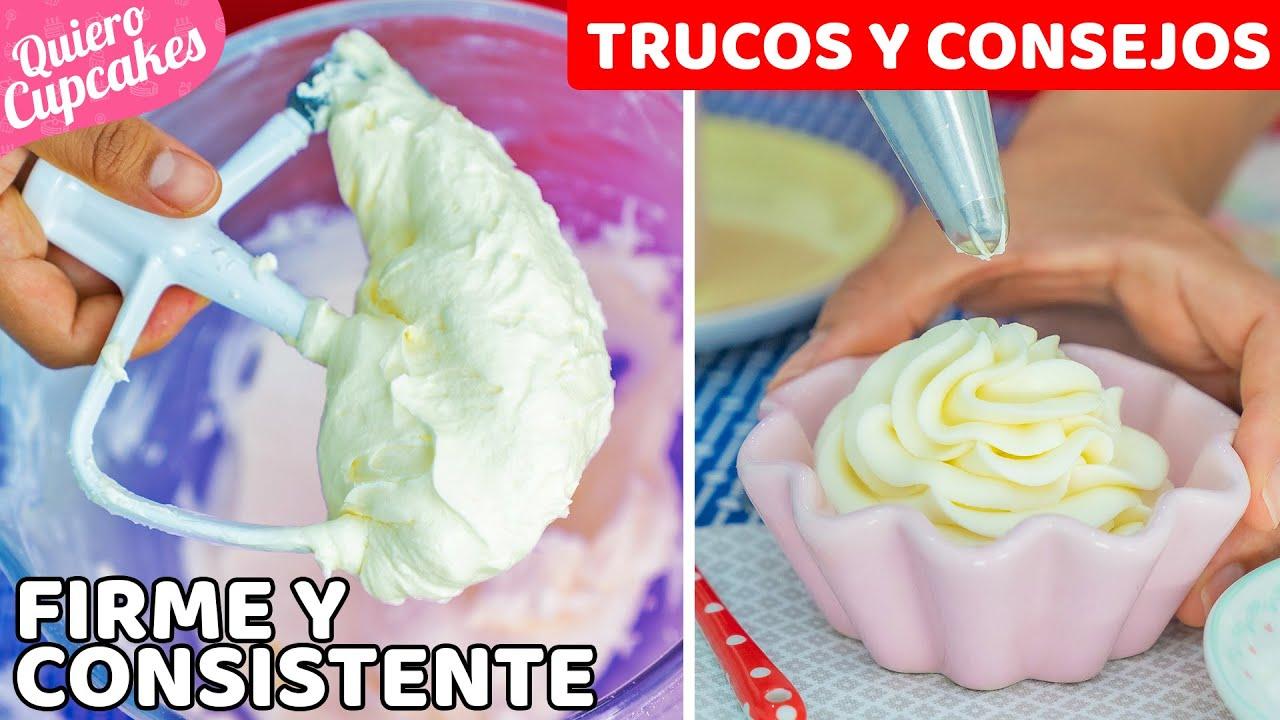 CREMA DE QUESO PERFECTA | RECETA + TRUCOS Y CONSEJOS | QUIERO CUPCAKES