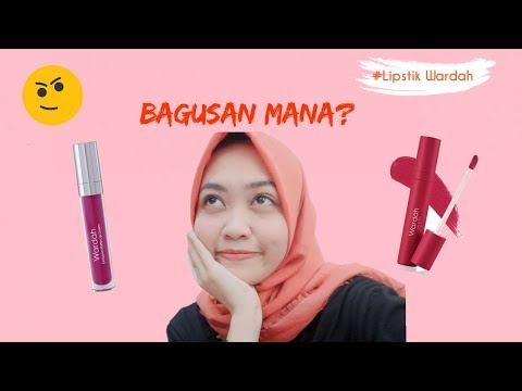 review-lipstik-wardah-velvet-matte-lip-mousse-&-eksklusif-matte-lip-cream-||-bagusan-mana???