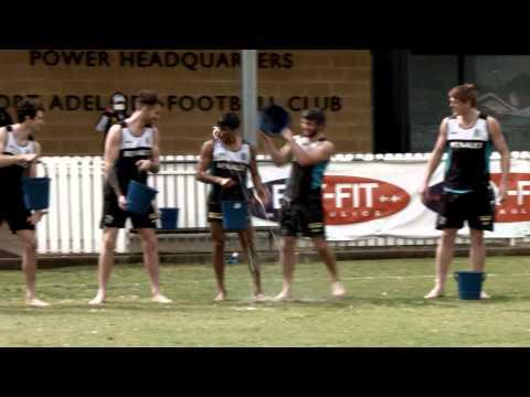 MND Ice Bucket Challenge - Port Adelaide Football Club