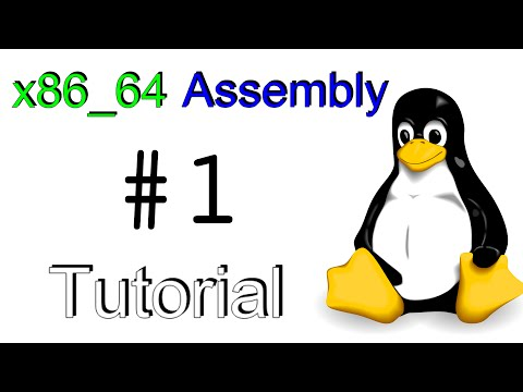 "x86_64 Linux Assembly #1 - ""Hello, World!"""
