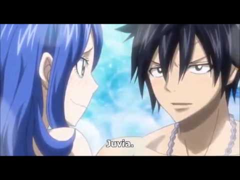 """Fairy tail OVA 5 - Gray and Lyon ride """"love slide"""" and ..."""