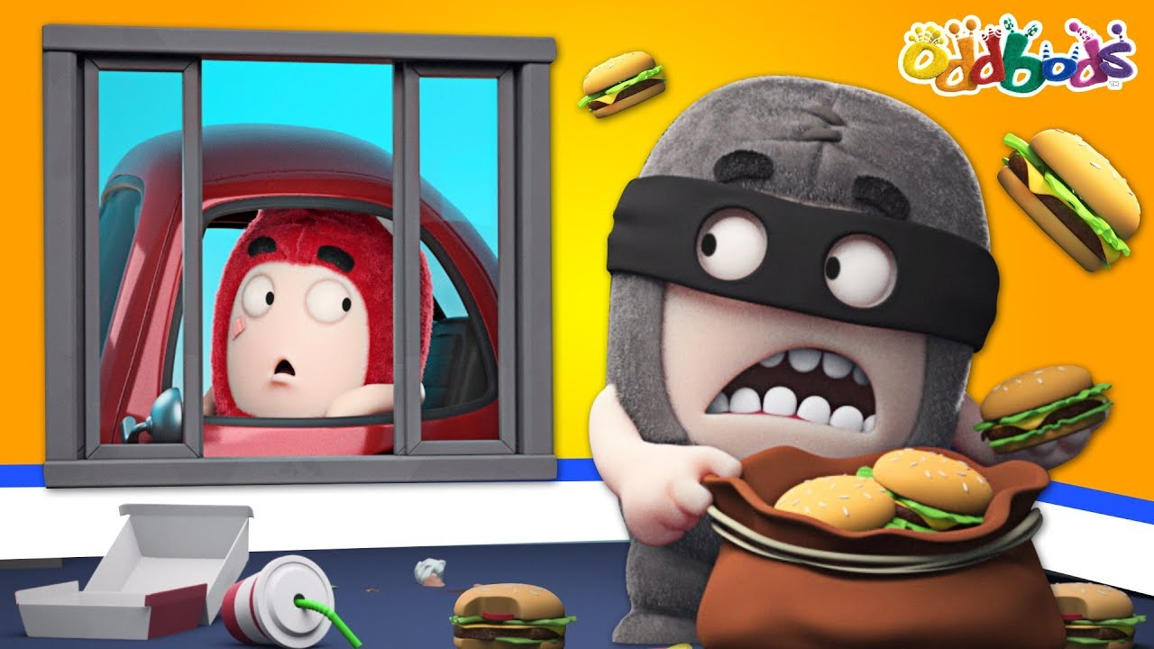 Oddbods | NEW | Drive Through | Funny Oddbods Episodes For Children